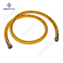 pvc flexible full braided sprayer pipe 10mm