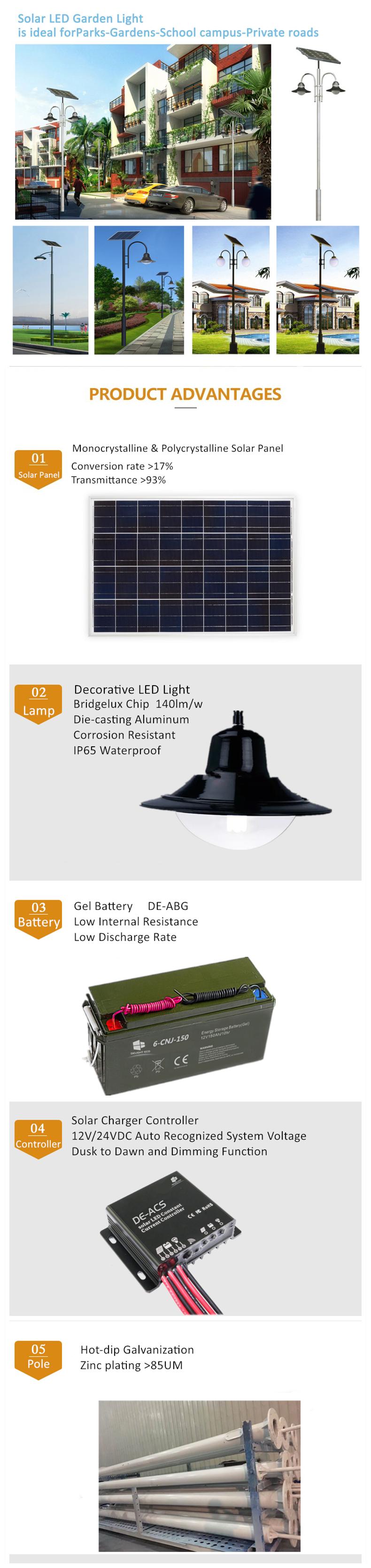 solar garden light DELIGHT