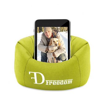 Personalized Bean Bag Smartphone Holder
