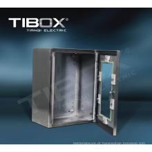 2015 Caixa de aço inoxidável impermeável Tibox UL com porta de vidro
