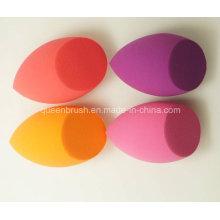 Esponja cosmética hidrófila de la forma oval no del látex
