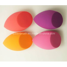 Hydrophilic Oval Shape Makeup Non Latex Cosmetic Sponge