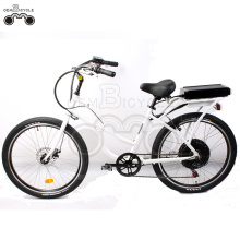48V 26inch women best electric beach cruiser bike
