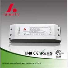 Controlador LED regulable de corriente continua triac 350MA 60V de carcasa de plástico IP20