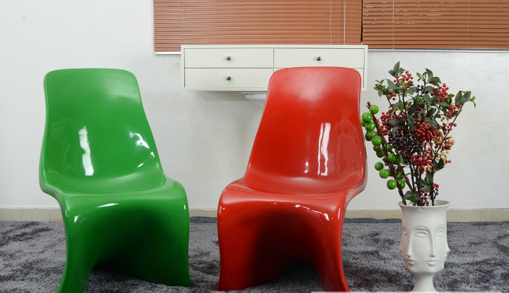 S shape dining chairs