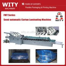 La más nueva máquina semi-automática de la laminación del cartón
