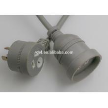 15A cables de extesion de SAA