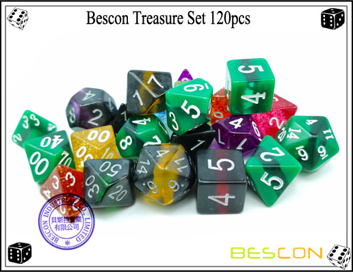 Bescon Treasure Set 120pcs-5
