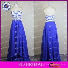 ED Bridal Elegant Charming A-line Sweetheart Neckline Zipper Blue Beautiful Evening Dress 2017