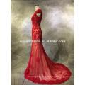2016 New Fashion Real Photo beaded sweetheart backless vestidos de noite com inspiração asiática
