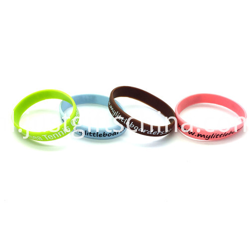 Promotional Printed Silicone Wristbands-180122mm3