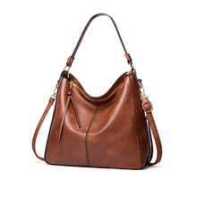 Hot Sale Handbags for Women Large Designer Ladies Hobo Bag Classic Bucket Purse Leather Women′s Shoulder Handbags