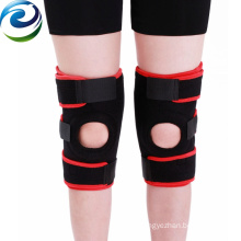 Sealcuff black and red professional skateboard knee pads with spring