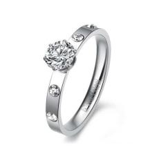 Heißer Verkauf Silber Krone Ring, Frauen Ehering Sets, viel Glück Ring