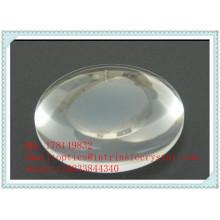 Lentille Bi-Convex à Silicone Fusionnée UV à 27mm F / LX 22.5mm Diamètre