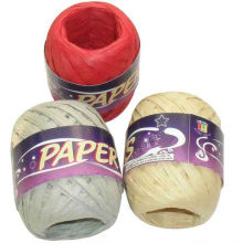 paper yarn,paper raffia rope ribbon spool,paper rope