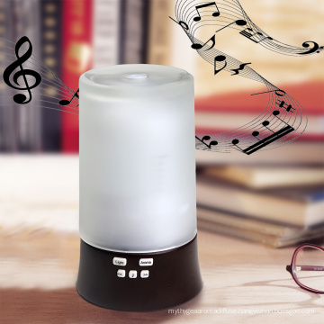 Aromacare Designs House Attractive Anion Music MP3 Mini Glass Wood Humidifier