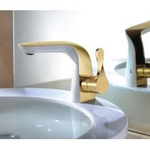 Grifo de lavabo de una sola llave de lujo (DH31)