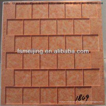 Moule en plastique de grille de mosaïque de Foshan Meijing pour la fabrication