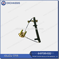 Genuino TFR PICKUP Regulador de puerta delantera Manual LH 8-97095-532