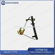 Manual do regulador da porta dianteira genuína do TFR PICKUP LH 8-97095-532