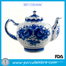 Traditional Blue and White Chinese Teapot