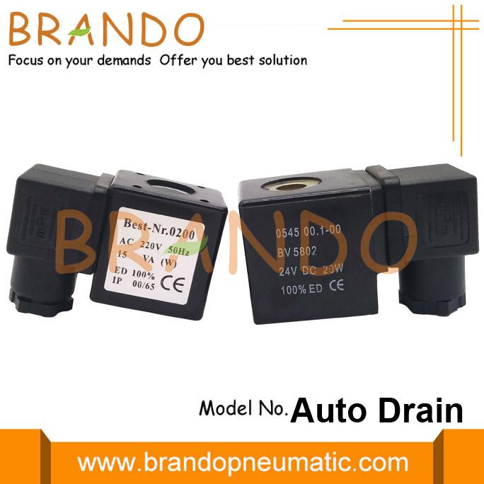 auto drain valve parts solenoid coil