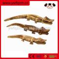 лучшие продажи деревянные животные для детей, деревянные крокодила