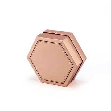 High End Hexagonal Shaped Cardboard Box