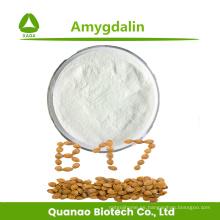 Extracto de almendra amarga anticancerígena Amygdalin 98% en polvo