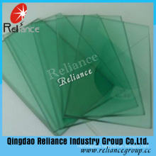 Green Color Tinted Float Glass with High Quality