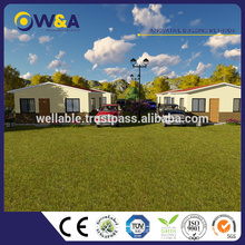 (WAS1013-36D)Fast Installation Durable Thermal Insulation Modern Design Prefab Villa House