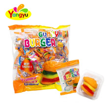 Yummy Gummy Burger Chewy Candy
