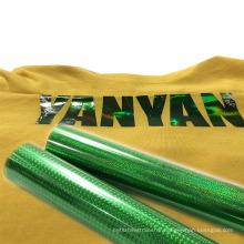 Wholesale Decoration Effect Textile Thermal Press Vinil PET Soft Metallic Heat Transfer Vinyl for T-shirt