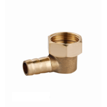 OEM manufacturer supply CE Certificate bathroom shower elbow joint connector brass pipe fitting