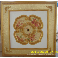 Burgundy&Gilt Bracade Decorative Artistic Ceiling Dl-1114-11