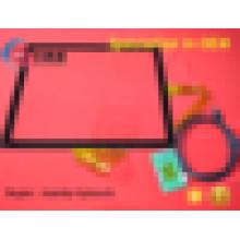 """Resposta rápida espessura de 2,4 mm Painel de tela sensível ao toque de 17 """"com controle e interface USB"""