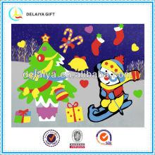 Новый дизайн DIY Рождество Ева-головоломка стикер игрушки для детей