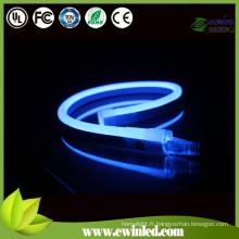 Tube néon LED avec diffuseur laiteux blanc / couleur