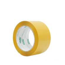 52mm Width Manufacturer Price 100M Strong Adhesive Yellow Waterproof BOPP Packing Tape
