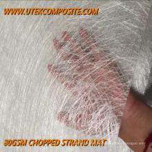 80GSM peso ligero tamaño de la pieza de fibra de vidrio cortado hilo strand