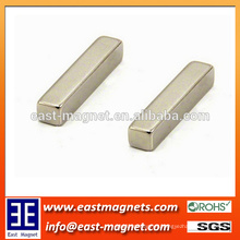 10mmx5mmx5mm strong Power Permanent Block NdFeB Magnet/nickel plated rectangle block magnet for sale