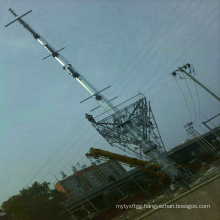 110kV Single Circuit Steel Tube Power Transmission Tower
