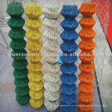 Malla de eslabones de PVC