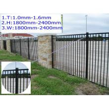 Lötfreie Verbindung, ohnehin verstrebte zusammengesetzte Zaun