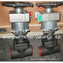 Válvula de compuerta Manual de enclavamiento mecánico