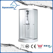 Bathroom Tempered Glass Simple Shower Room (AS6818)