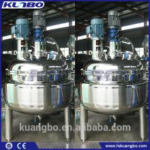 Réservoir de mélange en acier inoxydable à double paroi