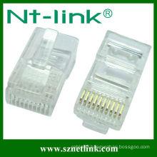 UTP 10P10C RJ45 Modular Plug
