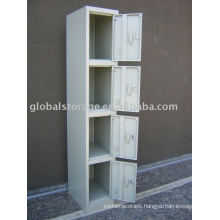 Four drawer steel locker